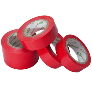 PVC red electrical tape