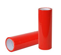 BOPP RED COLOR PACKING TAPE